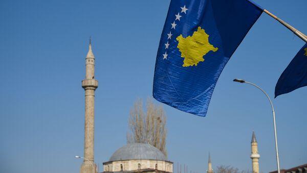 Vlajka Kosova v Prištině - Sputnik Česká republika