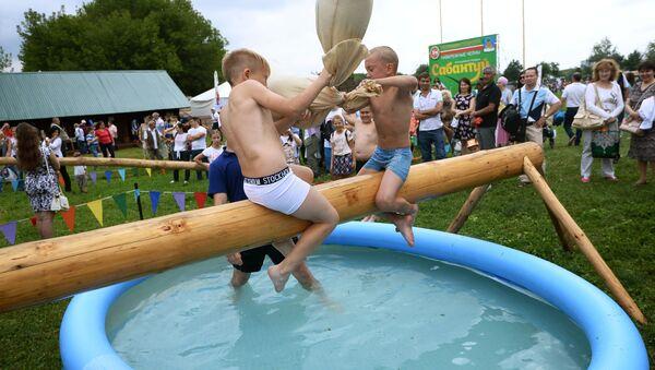 Děti na festivalu. Ilustrační foto - Sputnik Česká republika