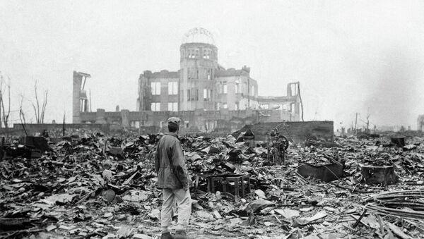 Hirošima po bombardování - Sputnik Česká republika