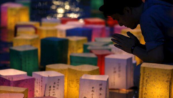 Japonsko si připomíná 70. výročí svržení jaderné bomby na Hirošimu. - Sputnik Česká republika