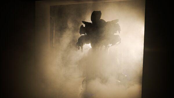 Robot Titan na výstavě robotů v Moskvě - Sputnik Česká republika