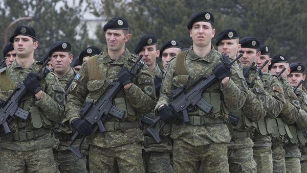 Kosovští vojáci - Sputnik Česká republika