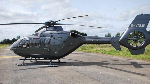 Eurocopter EC-135. Ilustrační foto - Sputnik Česká republika