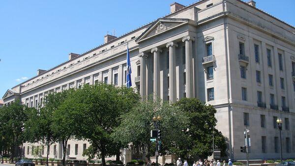 Ministerstvo spravedlnosti USA - Sputnik Česká republika