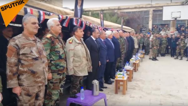 Bývalí syrští ozbrojenci - Sputnik Česká republika