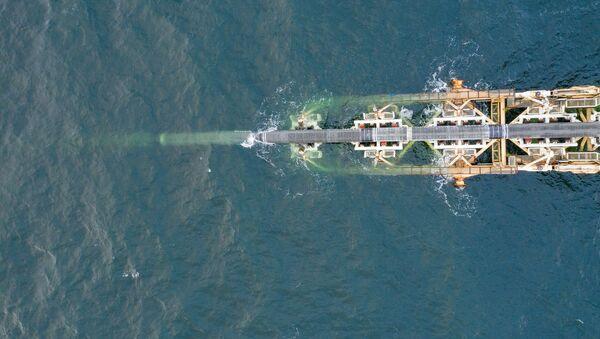Stavba plynovodu Severní proud 2 v německých vodách - Sputnik Česká republika