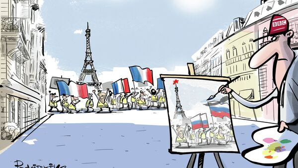 BBC šíleně chce najít ruskou stopu - Sputnik Česká republika