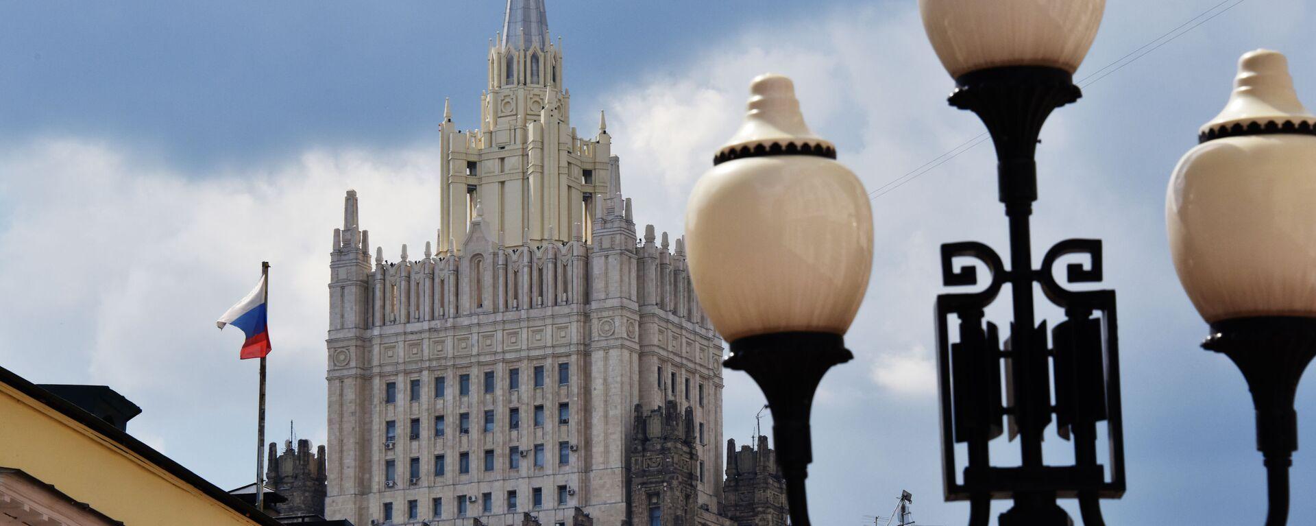 Ministerstvo zahraničních věcí v Moskvě - Sputnik Česká republika, 1920, 02.09.2021