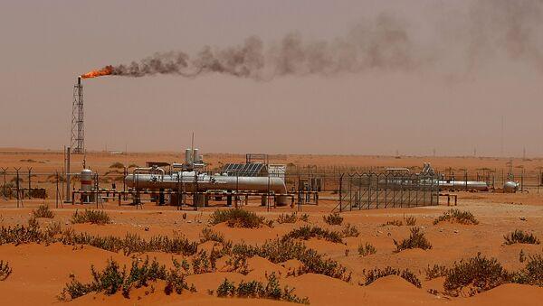 Těžba ropy v Saúdské Arábii - Sputnik Česká republika