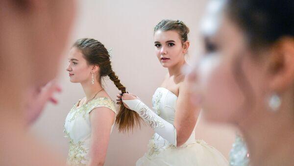 Novoroční kadetský ples Rosgvardie v Paškovském domě - Sputnik Česká republika