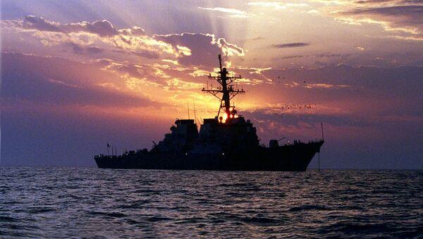 Americká loď Carney v Perském zálivu - Sputnik Česká republika