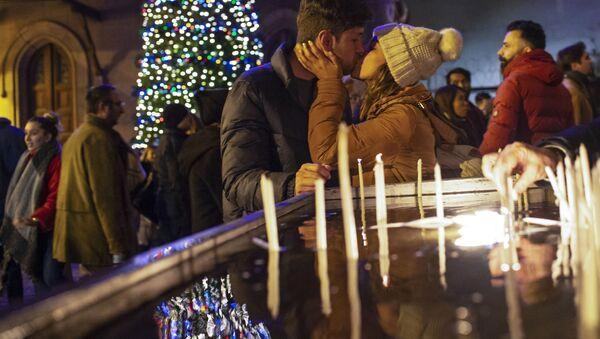 Vánoční mše v Istanbulu - Sputnik Česká republika