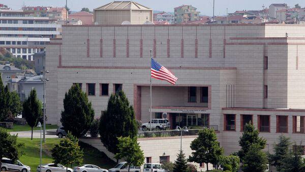 Konzulát USA v Istanbulu - Sputnik Česká republika