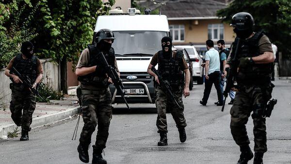 Turečtí příslušníci speciálních jednotek - Sputnik Česká republika