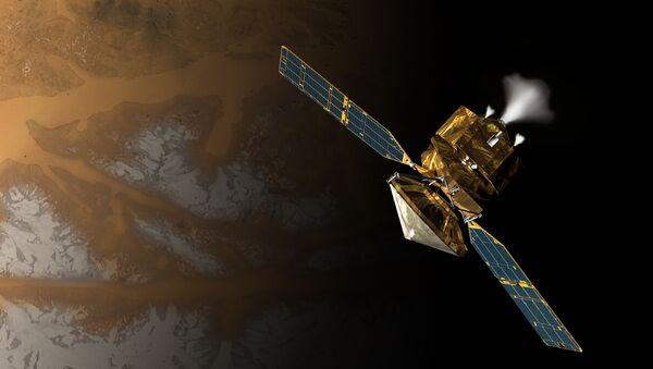 Umělecká představa družice NASA - Sputnik Česká republika