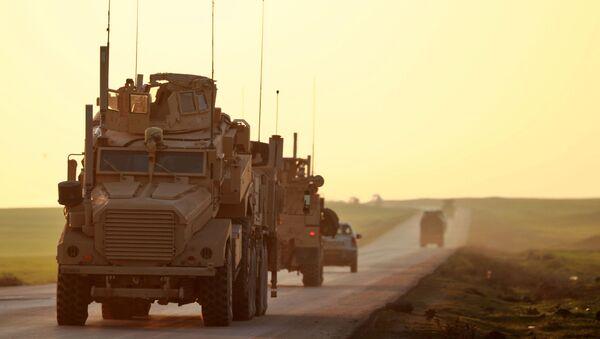Američtí vojáci v syrské provincii Hasaka - Sputnik Česká republika