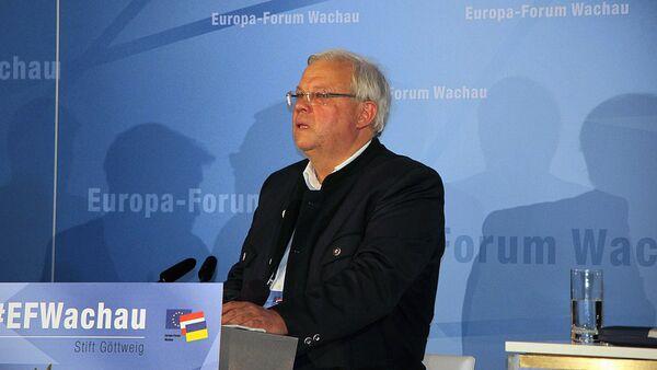 Novinář z rakouské televizní a rozhlasové společnosti ORF Christian Wehrschütz - Sputnik Česká republika