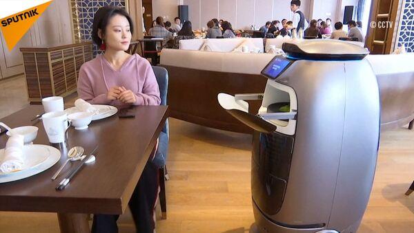 Hotel budoucnosti: podívejte se, jaká je Čína vyspělá, na rozdíl od ostatních! - Sputnik Česká republika