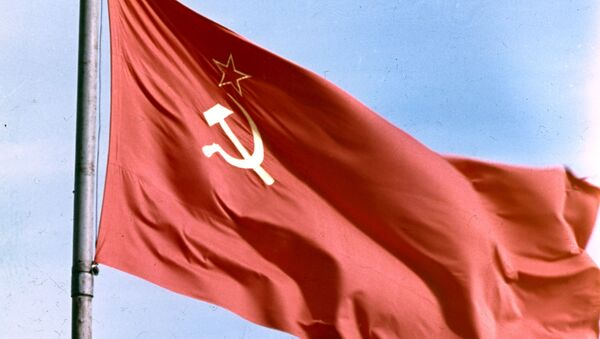 Vlajka SSSR (ilustrační foto) - Sputnik Česká republika