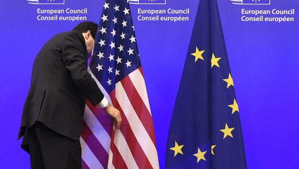 USA a EU - Sputnik Česká republika