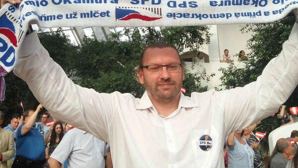 Poslanec SPD Lubomír Volný - Sputnik Česká republika