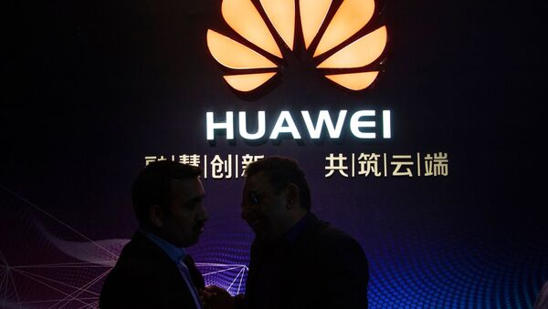 Logo společnosti Huawei - Sputnik Česká republika