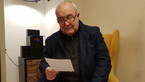 Petr Hannig čte alternativní novoroční projev k občanům ČR - Sputnik Česká republika