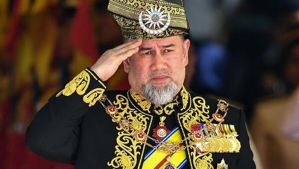 Malajský král Muhammad V. - Sputnik Česká republika