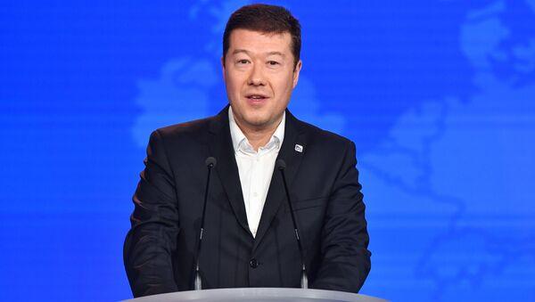 Лидер чешской партии Freedom and Direct Democracy party Томио Окамура - Sputnik Česká republika