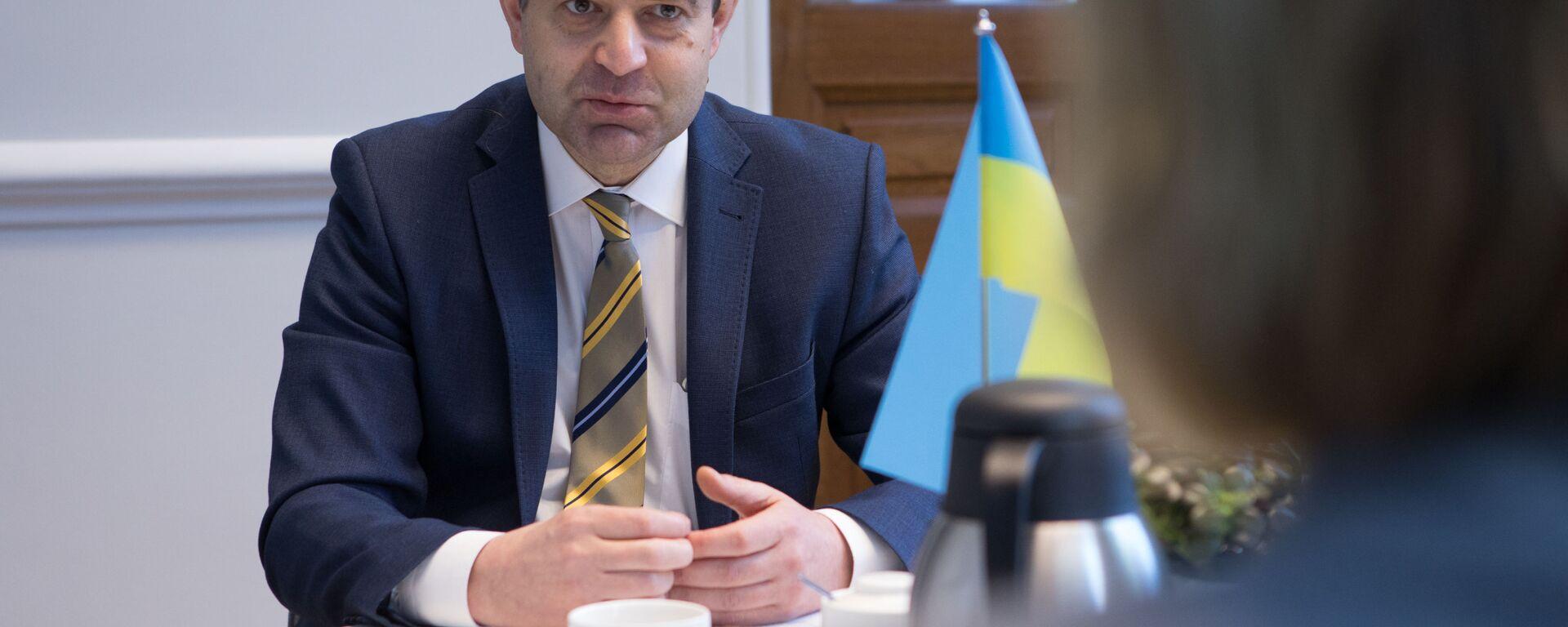 Ukrajinský velvyslanec v České republice Jevhen Perebyjnis  - Sputnik Česká republika, 1920, 12.07.2021