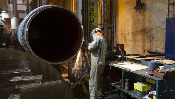 Svaření potrubí pro Nord Stream 2 - Sputnik Česká republika