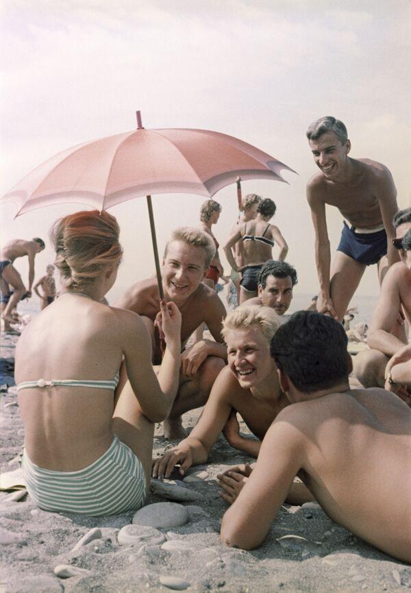 Sovětská plážová móda - Sputnik Česká republika