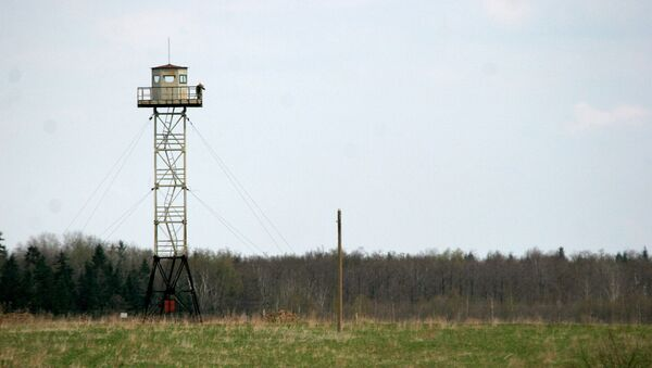 Hranice mezi Ruskem a Lotyšskem - Sputnik Česká republika