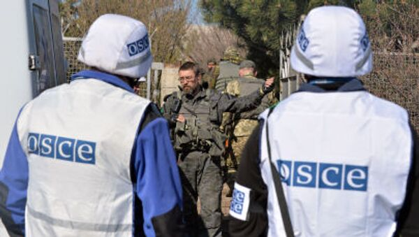 Mise OBSE na Ukrajině - Sputnik Česká republika