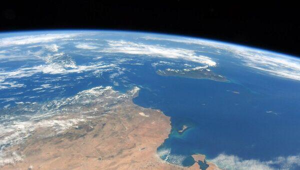 Pobřeží Tuniska, Sicílie a ostrovního státu Malta z ISS - Sputnik Česká republika