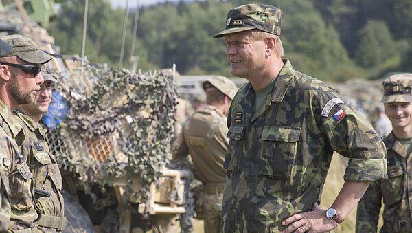 Náčelník generálního štábu Josef Bečvář - Sputnik Česká republika