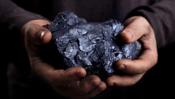 Ilustrační foto uhlí - Sputnik Česká republika