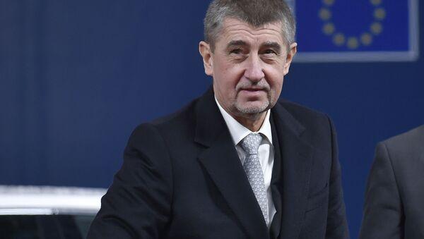 Český premiér Andrej Babiš - Sputnik Česká republika