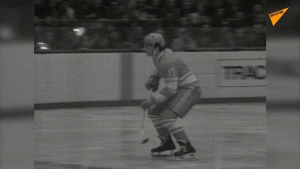 Dnes se narodil vynikající sovětský hokejista Valerij Charlamov - Sputnik Česká republika
