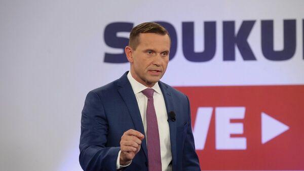 Moderátor a majitel TV Barrandov Jaromír Soukup - Sputnik Česká republika