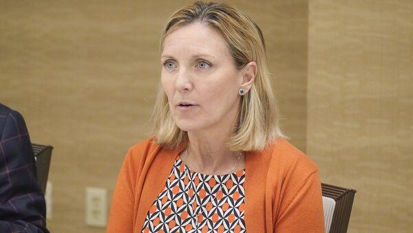 Zástupkyně amerického ministra zahraničí pro kontrolu zbraní a mezinárodní bezpečnost Andrea Thompson - Sputnik Česká republika