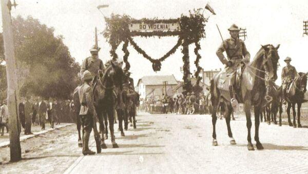 Českoslovenští vojáci (r. 1919). - Sputnik Česká republika