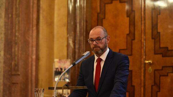 Министр образования, молодежи и спорта Чехии Роберт Плага - Sputnik Česká republika