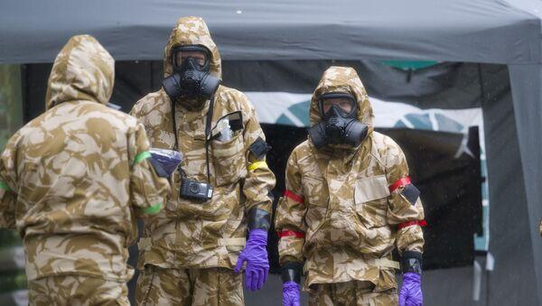 Chemická operace v Salisbury - Sputnik Česká republika
