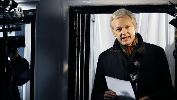Zakladatel WikiLeaks Julian Assange. Ilustrační foto - Sputnik Česká republika