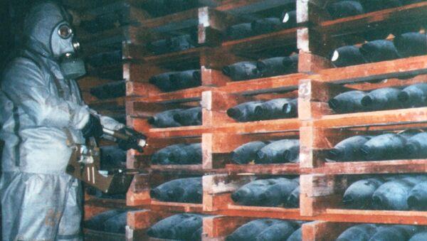 Sklad chemických zbraní - Sputnik Česká republika
