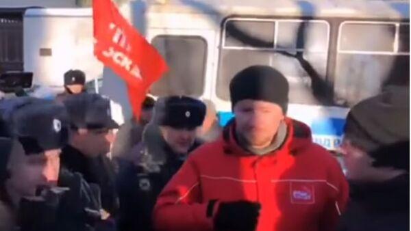Sedm lidí bylo zadrženo během protestu proti předání Kurilských ostrovů - Sputnik Česká republika