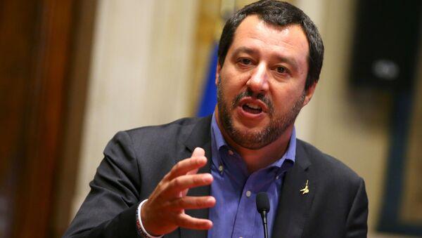 Matteo Salvini je italský politik - Sputnik Česká republika