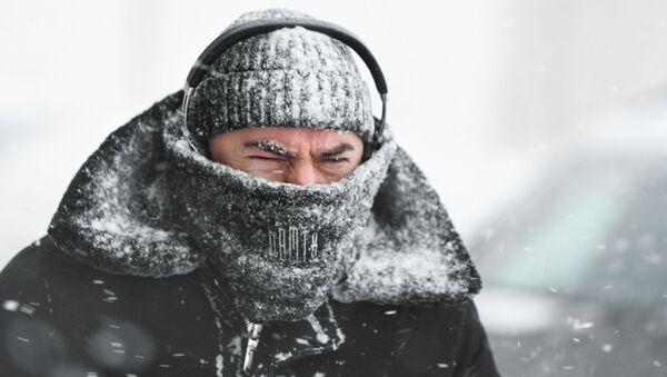 Sněhová apokalypsa v Moskvě - Sputnik Česká republika