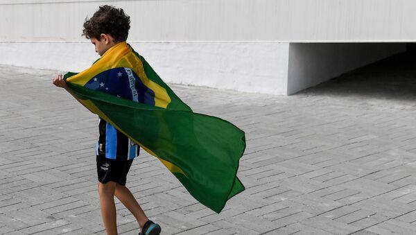 Brazilská vlajka - Sputnik Česká republika